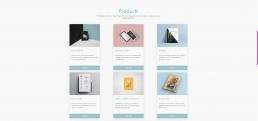 SPC website homepage product display