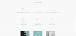 SPC website dimensions