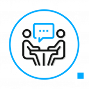 initial-meeting icon